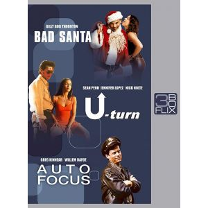 Coffret Bad santa + U Turn + Autofocus