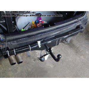 Atnor 2891r - Attelage remorque à col de cygne démontable avec outils
