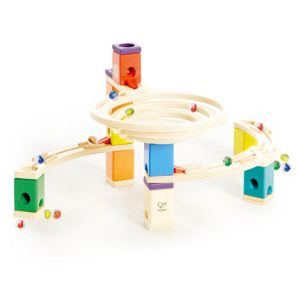 Hape Circuit bille & toboggan Quadrilla : Rond Point