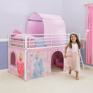 Tente pour lit Disney Princesse