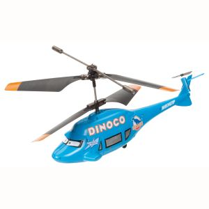 Majorette Hélicoptère radiocommandé Cars Dinoco 1/24