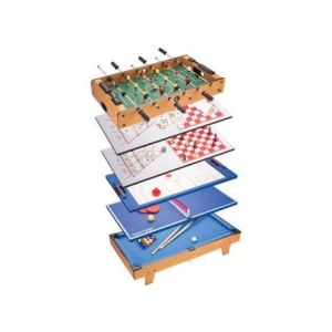 Kein Hersteller MH88833 - Table de jeux multiples 8 en 1 (82 cm)