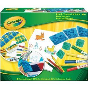 Crayola Jeux de timbres - A la ferme