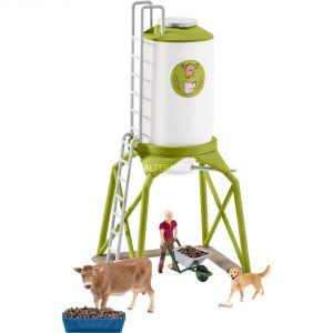 Schleich 41429 - Silo avec des animaux