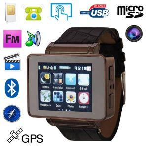 Yonis Montre téléphone tactile lecteur MP3 MP4