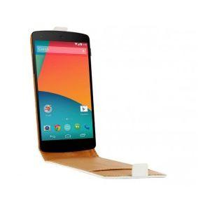 Swiss Charger SCP10152W - Étui en cuir véritable pour LG Nexus 5