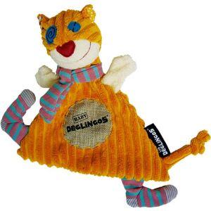 Les Déglingos Doudou Baby Ronronos le chat 27 cm