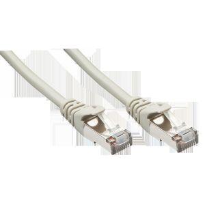 Lindy 48218 - Câble réseau cat.5e F/UTP 15 m Gris