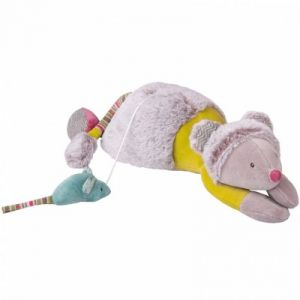 Moulin roty Peluche musicale Souris Les Pachats 33 cm