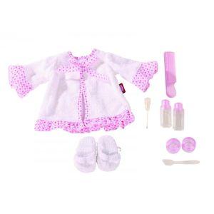 Gotz Peignoir avec accessoires pour poupée (45-50 cm)