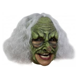 Masque sorcière verte adulte Halloween