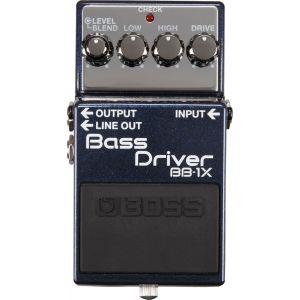 Boss Effect BB-1X Bass Driver pédale overdrive pour basse