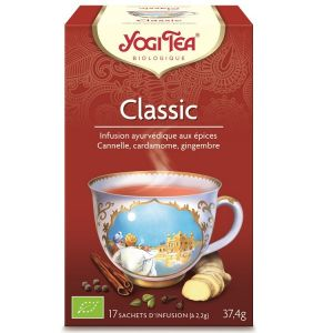 Yogi Tea Infusion classic cannelle - Boîte de 17 Sachets