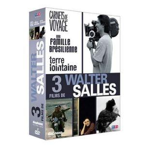 Coffret 3 films de Walter Salles : Carnets de voyage + Une famille brésilienne + Terre lointaine
