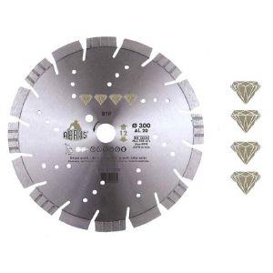 Reflex 410455 - Disque diamant btp diamètre 450 mm alésage 25.4
