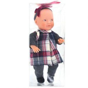 La nina Mini poupée Anita robe écossaise