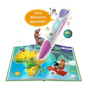 Leapfrog Mon lecteur Leap Violet avec livre et batterie