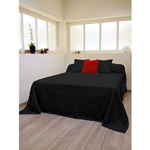 32 offres couvre lit boutis noir comparez avant d 39 acheter en ligne. Black Bedroom Furniture Sets. Home Design Ideas