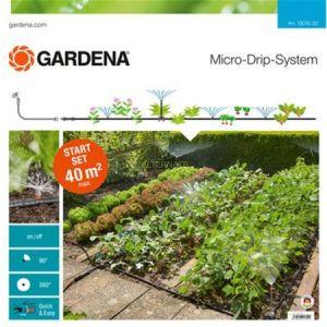 Gardena 13015-20 - Kit d'initiation Micro-Drip System pour potagers et massifs