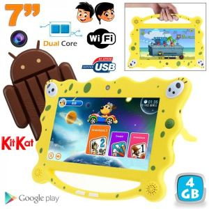 "Yonis Y-tte9 - Tablette tactile enfant éducative 7"" sous Android 4.4 (8 Go interne)"