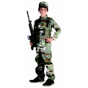 Déguisement militaire (4 à 14 ans)