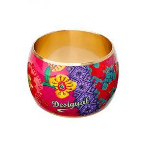 Desigual 51G55E23115U - Large bracelet en métal pour femme
