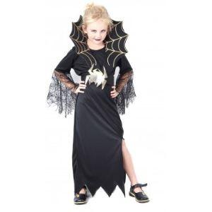 Déguisement sorcière araignée fille Halloween (taille au choix)