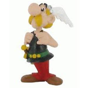 Plastoy Figurine Astérix tenant ses bretelles (Astérix et Obélix)