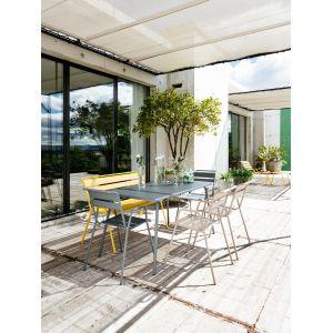 Fermob Monceau - Table de jardin rectangulaire en acier 146 x 80 x 74 cm
