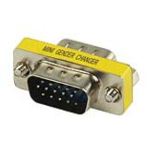 GCHD-MM15P - Adaptateur VGA 15-pin D-Sub (M)/(M)
