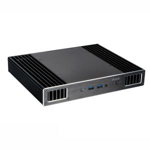 Akasa Plato X - Boîtier fanless pour Intel NUC avec processeur Intel Core i7 (sans adaptateur)