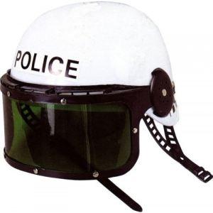 Casque de police avec visière
