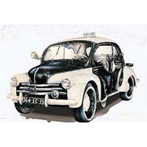 Heller 80764 - Maquette voiture Renault 4 CV Pie