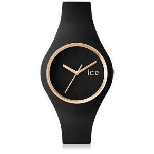 Ice Watch ICE.GL.BK.S.S.14 - Montre mixte Quartz Analogique ICE Glam