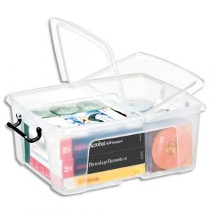 CEP Office Solutions Strata Boite de rangement Plastique 24 litres