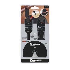 Black & Decker X26150 - Kit 3 accessoires pour outil oscillatoire