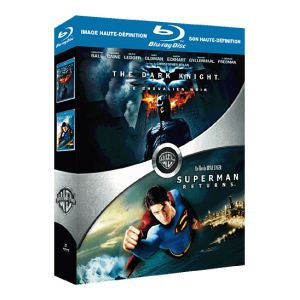 Coffret The Dark Knight + Superman Returns