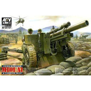 AFV Club AF35191 - Maquette US 105mm Howitzer M101 A1 avec carriage M2 A2 - Echelle 1:35