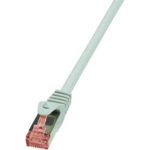 Logilink CQ2042S - Câble réseau RJ45 CAT 6 S / FTP 1,50 m Gris