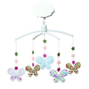 Trousselier Mobile musical Étoiles et Papillons