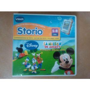 Vtech Jeu tablette Storio : La maison de Mickey