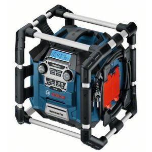 Bosch GML 20 - Radio de chantier MP3 avec port USB et lecteur de carte SD
