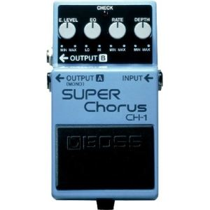 Boss Effect CH-1 - Pédale Super Chorus