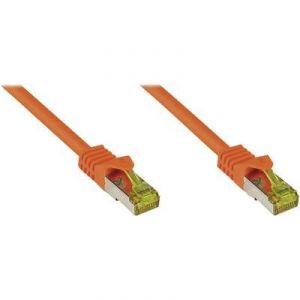 Good Connections 8070R-050O - Câble réseau RJ45 CAT 7 S/FTP 5 m