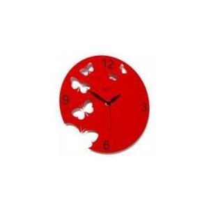 Diamantini & domeniconi Horloge métal laqué ajouré papillon Meridiana (30 cm)