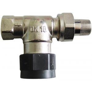 Oventrop 1183863 - Corps de robinet droit 12x17 DN10 série AV6 à préréglage raccordement fileté M30x1.5 capuchon de protection blanc