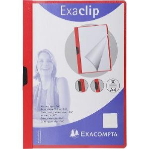Exacompta Chemise Exa-Clip pour 60 feuilles A4