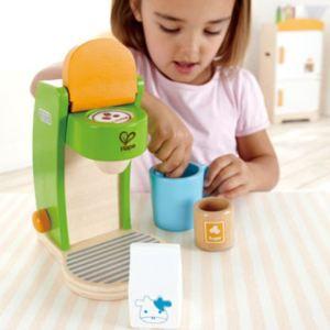 Hape E3106 - Machine à café en bois