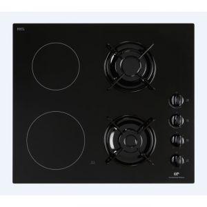 Table de cuisson d 39 entr e de gamme comparer les prix sur - Table cuisson mixte gaz vitroceramique ...