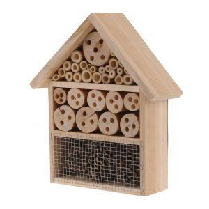Hôtel à insectes bois 29,5 cm